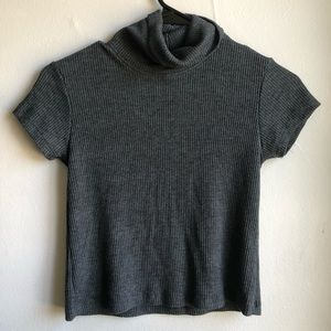 J. Galt Short Sleeved Turtleneck